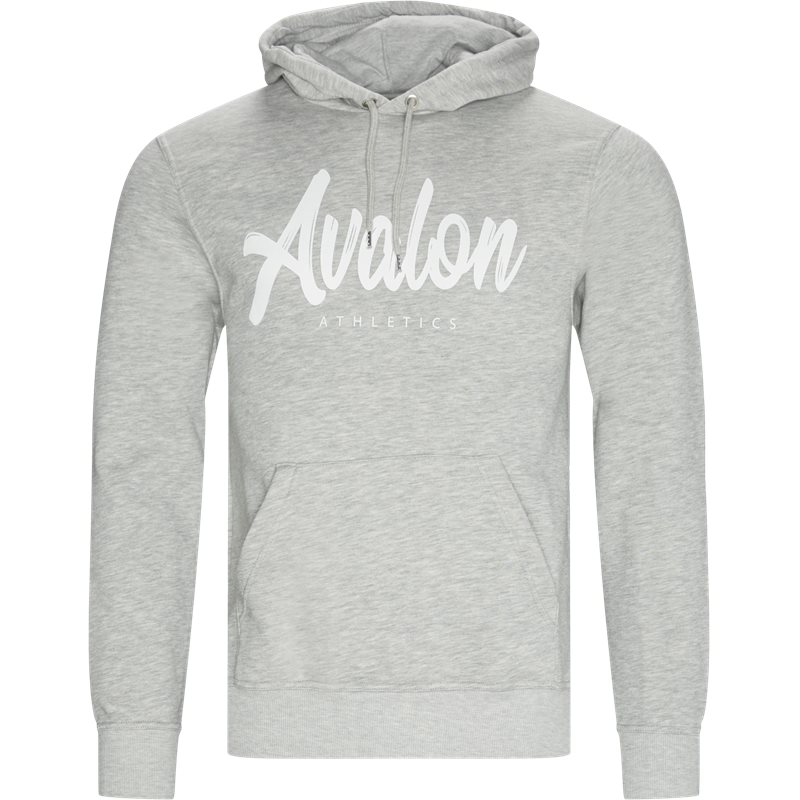 Image of   Avalon Athletics Ridge Hoodie Grey Melange